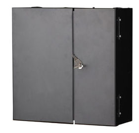 China 12 24 48 core indoor Wall mount metal fiber Optic Cabinet wall mount FTTH terminal box YH1002 supplier