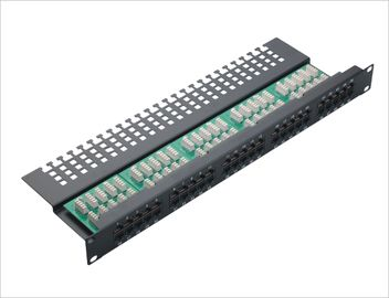 China Cat3 50 port Voice Home Network Patch Panel Krone Fibre Optic Patch Panels YH4004 supplier