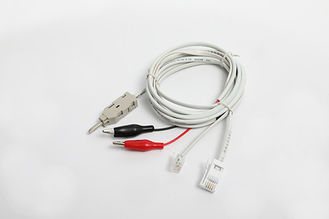 China BT Style UK Telephone Test Cable ABS PBT Material With RJ11 6P4C Modular Plug YH5009BT1 supplier