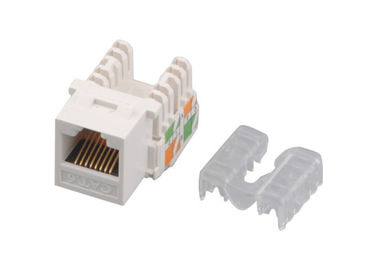 China Home Network Cat6 RJ45 keystone jack IDC CE 8P8C Golden Pin modular jack YH7011 supplier