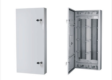China Metal 68 Way Cable Connect Network Distribution Box / Fiber Optic Distribution Panel YH3015 supplier