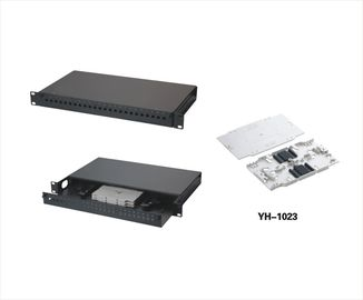 China 24 Port Fiber Optic Patch Panel Distribution Panel YH1005 supplier