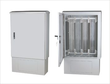 China Large SMC Telecommunication Fiber / Cable Distribution Box Stand Cabinet YH3026 supplier