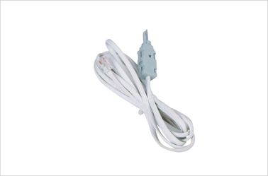 China 2 Pole Krone LSA Network Patch Cord For Testing Disconnection Module / Switching Module with plugs YH5008 factory