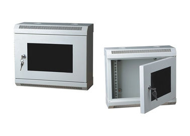 China 10 Inch Small Wall-Mount Network Server Cabinet With Glass Door YH2007 distributor