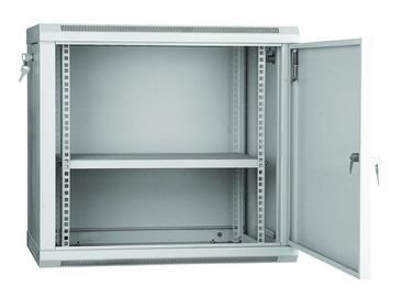 China Home Wall Mount Network Rack Cabinet Lockable 19 Inch 0.6m / 1m Depth YH2006 distributor