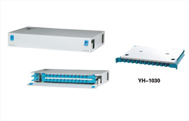 China 24 Pore Fiber Optic Distribution Panel Termination Frame With Vandal Resistant Function YH1018 distributor