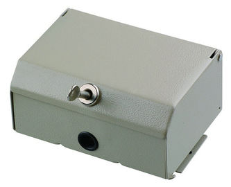 China 10 Pair Lockable Metal Network Distribution Box Waterproof and Durable for LSA profile Module YH3001 distributor